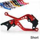 Short Brake Clutch Levers For DUCATI 750/800/900/1000 SS SuperSport Red