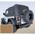 RUGGED RIDGE 1370637 Soft Top Spice Tinted Windows For 97 02 Jeep Wrangler TJ