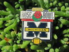 Official NCAA Licensed Pin Michigan Wolverines Rose Bowl 2007 Football
