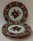 Fitz & Floyd CAMELLIA Bread Plates SET OF FOUR More Items Available