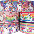 Grosgrain Ribbon 7 8 5 Yard mixed lot Unicorns Unicorn LT1 BULK WHOLES