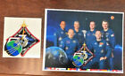 NASA International Space Station ISS Expedition 53 Crew Lithograph Print