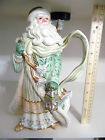 FITZ & FLOYD GREGORIAN COLLECTION SANTA PITCHER W/LANTERN AND TOY SACK