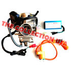 26mm Gy6 150cc Carburetor Racing Cdi Box Scooter Coil