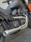 Bassani Road Rage 3 Megaphone 2 Into 1 Stainless Exhaust Pipe 18+ Harley Softail