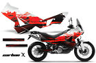 AMR Racing KTM Adventurer 990 Graphic Kit Street Bike Decal Wrap 06-14 CRBNX RED