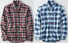 NWT AMERICAN EAGLE Mens Plaid Oxford Button Down Shirt Small Medium Large XL 2X