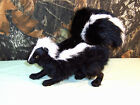 REALISTIC SKUNK rabbit fur FURRY ANIMAL REPLICA toy sk1000 FREE SHIPPING USA