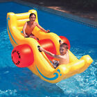 Swimline 9058 Swimming Pool Sea Saw Rocker Pool Float Lounge Toy