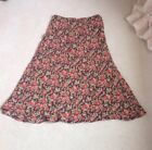 *BNWOT* April Cornell Long Skirt Size Large, Boho, Gypsy, Ethnic, Autumn Floral