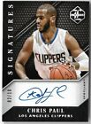 CHRIS PAUL 2015 LIMITED SIGNATURES AUTO AUTOGRAPH CARD #2 10!