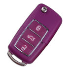 3 Buttons Remote Key Case Fob Shell Fit For Vw Volkswagen Bora Beetle Golf Polo