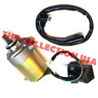 Starter Motor and Relay for Gy6 150 150cc 157qmi 157qmj Scooter Moped Atv Gokart