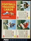 1962 Post Cereal Football 3-Card Panel w John Reger Lamar Lundy Crow (PWCC)