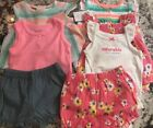 NWT 7pc BABY GIRL CARTERS CLOTHING LOT SIZE 3m