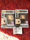 Jaqen H'ghar 57 and Lyanna Mormont 56 Funko Pop! Game of Thrones NYCC Exclusive