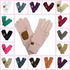 Texting Gloves Touch Screen Womens Warm Winter Gloves Knit Beanies