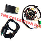New Gy6 150 Magneto Stator Coil Cdi Box Ignition Coil 150cc Stock Atv Go Kart