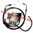 20mm Carburetor Throttle Cable Gy6 50 50cc Scooter Moped Carb Wildfire Geely New
