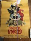AMARCORD Federico Fellini Original Vintage French Movie Poster 74 B1