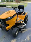 Cub Cadet 46 LT1 Garden Tractor with Grass Weed Wacker Only 32 hours