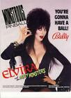 Bally/Williams Elvira and the party Monsters Flyer NOS