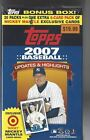 2007 Topps Updates & Highlights Baseball Blaster Box-Target Exclusive