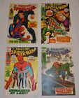 LOT OF 4 SILVER BRONZE AGE AMAZING SPIDER MAN COMICS 73 85 87 90 LOT004