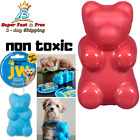 Dog Toy Replacement Squeaker Indestructible Gummi Bear Medium Chew Training Play