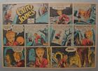 Miss Cairo Jones Sunday by Bob Oksner from 10 14 1945 Half Page Size Full Color
