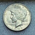 1921 P PEACE SILVER DOLLAR UNITED STATES COIN CURRENCY USA S1 ONE DOLLAR