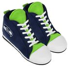 Seattle Seahawks High Top Sneaker SLIPPERS New FREE USA SHIPPING