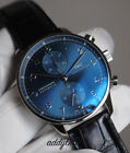 IWC portugieser chronograph blue iw371491 new 2017 dial