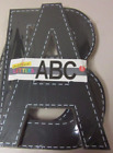Lot of 6 Sets Wooden Chalkboard Letters ABC 3 Count Each 10H