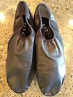 BLOCH JAZZ NEO FLEX DANCE SHOES SLIP ON LEATHER BLACK WOMENS 11 GREAT CONDITION