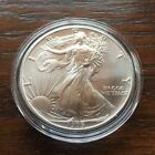 1995 AMERICAN SILVER EAGLE 1oz Pure Silver BU Condition LOW MINTAGE