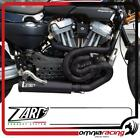 Zard Black Silencer Racing Headers Harley Davidson XR 1200 Full Exhaust System