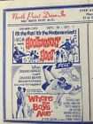 Country Music Movie Hootenanny Hoot Drive In Theatre Flyer Ad