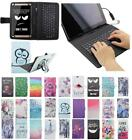 For Acer Iconia One 8 B1-820 B1 820 USB Andriod Tablet Keyboard Case Cover Flip