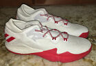 ADIDAS Crazy Light Boost Low White Red Basketball Shoes Sneakers Mens 145 15