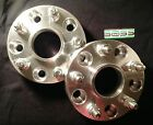 1 PAIR 5x5 Aluminum Wheel Spacers 5 lug 125 Thick for 07+ Jeep Wrangler JK