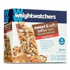 Weight Watchers Sweet  Salty Toffee Twist Snack Bars 3 Ppv Snack Food New