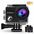 "Crosstour Action Camera 1080P Full HD Wi-Fi 12MP Waterproof Cam 2"" LCD 30m with"