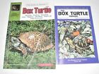 LOT  14 TWO BOOKS ON KEEPING BOX TURTLES