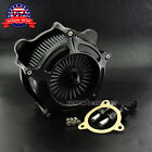 Matte Black Air Cleaner Grey Intake Filter For Harley Touring 08 16 Softail 2016