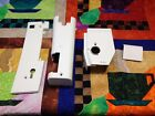 Bernina 153 white covers (End Cover, Top Cover, Bobbin door, and Free Arm Cover)
