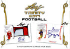2017 Leaf Trinity Football Sealed HOBBY BOX (5 Autos per box!)