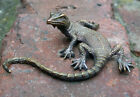 Solid Bronze Lizard Miniature by NFedosov