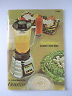 Osterizer Spin Cookery Blender Cookbook Vintage 1968 Manual Guide 4speed Beehive