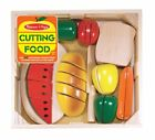 Melissa  Doug Cutting Food Play Food Set With 25+ Hand Painted Wooden